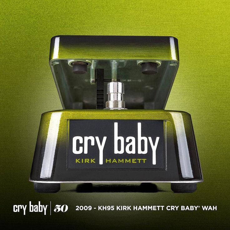 CRYBABY WAH ARTIST SERIES: Kirk Hammet Cry Baby Wah - 2009 This is the legendary tone that Kirk Hammett dials in on tour using his Cry Baby Rack Wah. Dunlop's engineers took Kirk's EQ volume and tone settings and reproduced them with exacting precision. This pedal is exceptionally even in response as you move from heel to toe with a thick top end and full dynamic range.  #kirkhammet #metallica #crybabyartistseries #crybaby50 #crybabywah #jimdunlopusa #performanceiseverything