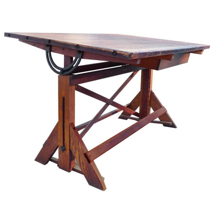 Drafting Table Desk Craft Station Ford Motor Tables