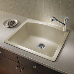 Silgranit, Drop In Sink For Bar