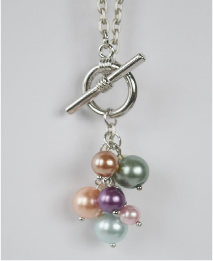 DIY Your Photo Charms, Compatible With Pandora Bracelets. Make Your Gifts  Special. DIY Pearl Cluster Necklace Tutorial In Young Women Value Colors