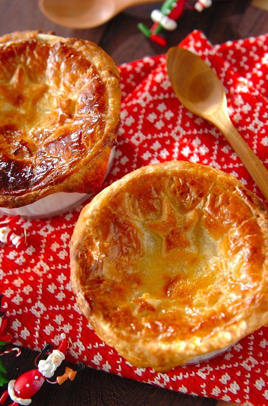 星降るシチューポットパイ #recipe #Christmas #soup #pie #クリスマス