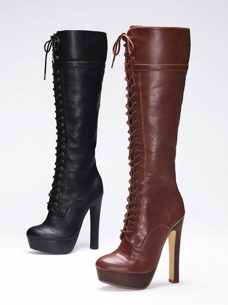 Lace-up Boot - Colin Stuart - Victoriau0026#39;s Secret. Iu0026#39;m In ...
