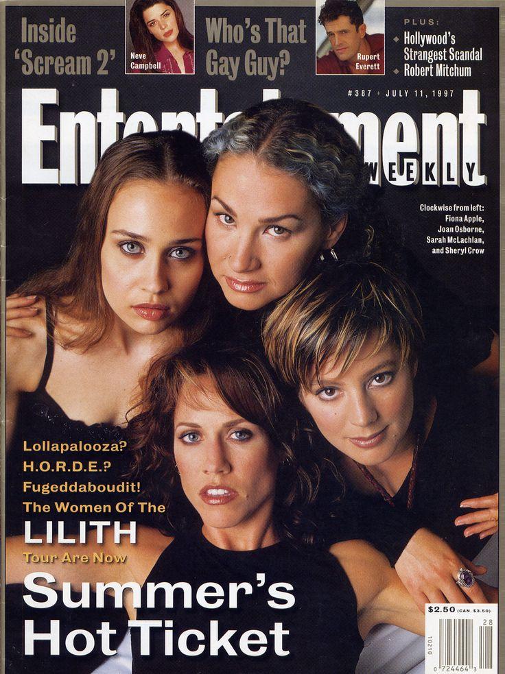 Lilith Fair - Fiona Apple, Joan Osborne, Sheryl Crow and Sarah McLachlan.