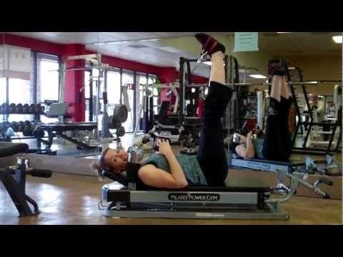 Pilates Power Gym Leg exercises