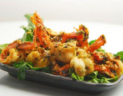 Chilli Garlic Shrimps