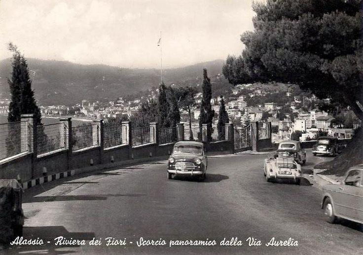 Via Aurelia, Alassio, Italy