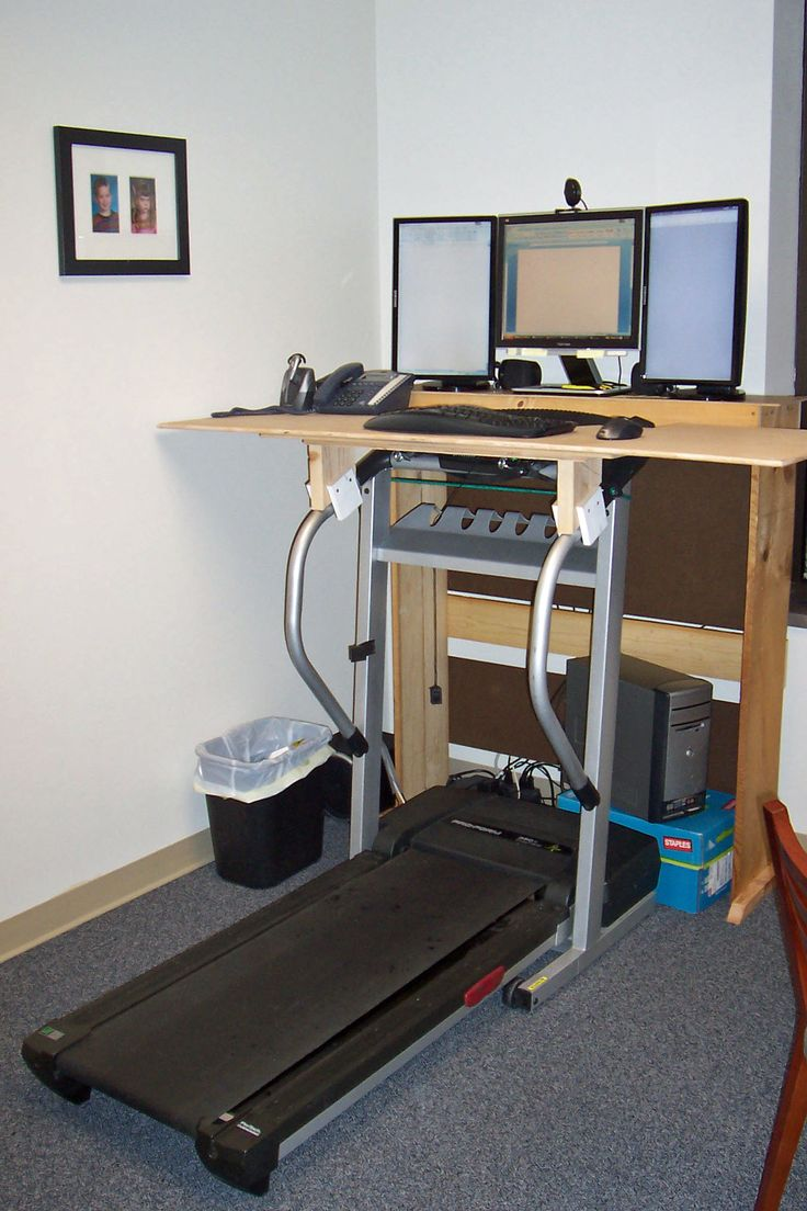 Desk kickstand furniture - Treadmill Desk I Could Do This