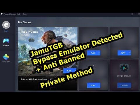 JamuTGB] bypass emulator detected pubg mobile Tencent Gaming