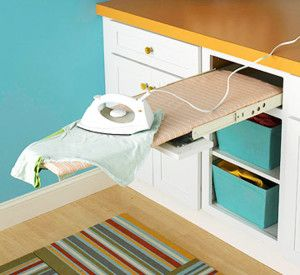 Pull Out Drawer Ironing Board