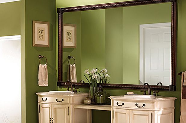 Two Sinks In Bathroom : Two Sinks! nice color