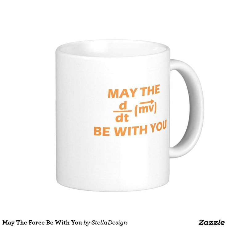 May The Force Be With You Classic White Coffee Mug