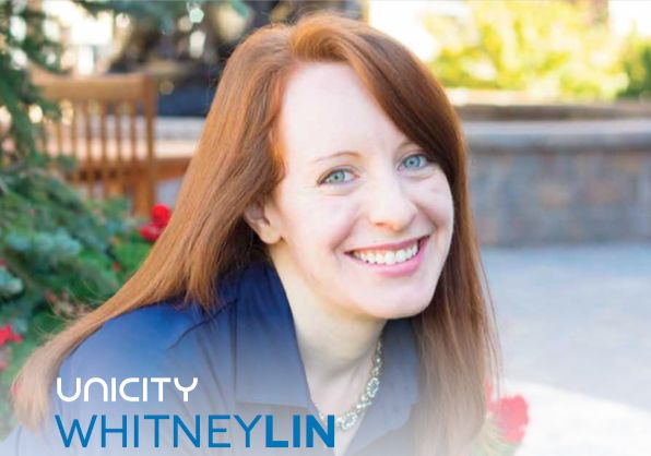 """Unicity Transformation Coach Whitney Lin  Wellness Coach Certification at Unicity International   • Bachelor of Arts in French   Brigham Young University   Minor in Italian  • Certified Personal Trainer   National Academy of Sports Medicine  • Certificate of Achievement for the """"Dale Carnegie Immersion Seminar"""" .  Learn more about Whitney at http://www.unicity.com/usa/local/unicity-transformation-coach-whitney-lin/"""
