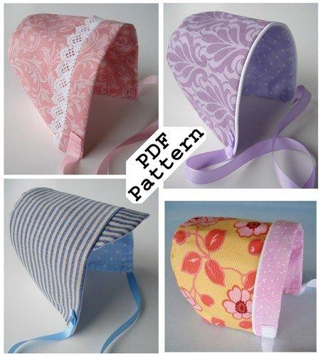 baby hat sewing pattern pdf