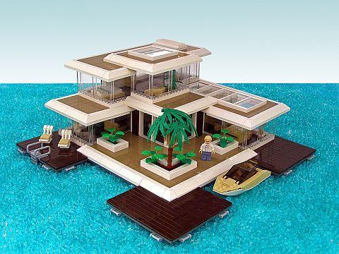 Lego creative house