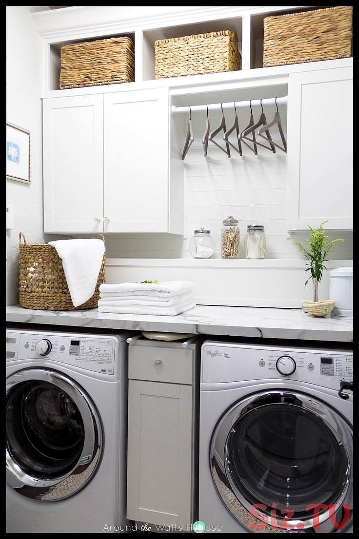 One Room Challenge Week 6 Laundry Room Reveal One Room Challenge