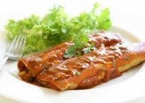 Enchiladas mit Huhn