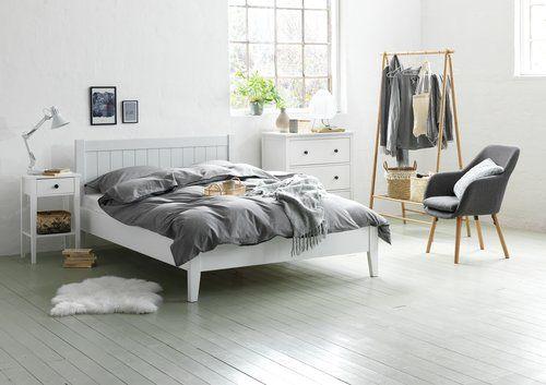 Sengeramme Nordby 180x200 Hvid Jysk Home Decor In 2019