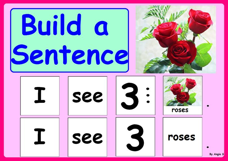 Valentine`s Day Build a Sentence for Speech Therapy For more resources follow https://www.pinterest.com/angelajuvic/autism-special-education-resources-angie-s-tpt-sto/