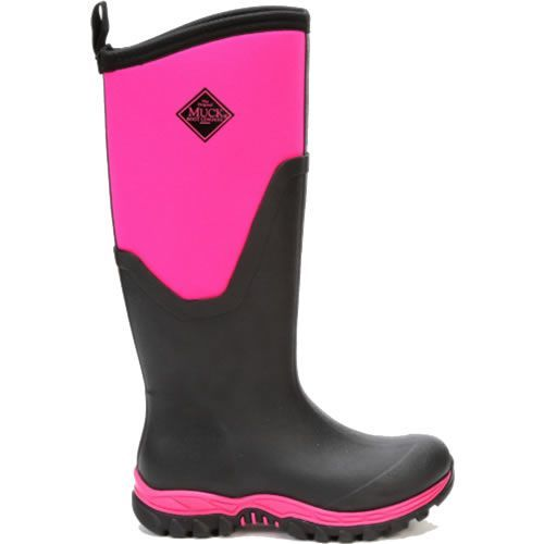 Muck Boots Arctic Sport II Tall Black And Hot Pink
