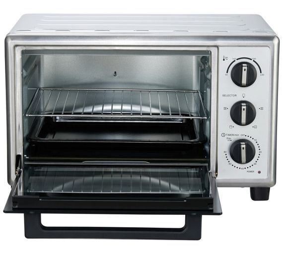Buy Cookworks Mini Oven - Stainless Steel at Argos.co.uk, visit Argos.co.uk to shop online for Mini ovens, Small kitchen appliances, Kitchen electricals, Home and garden