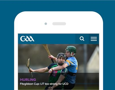 """Check out new work on my @Behance portfolio: """"The GAA website"""" http://be.net/gallery/49009245/The-GAA-website"""