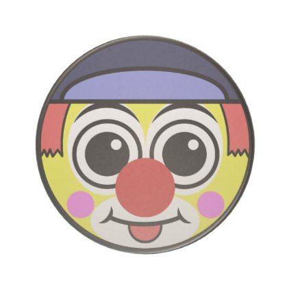 #cute - #Clown Face Coaster
