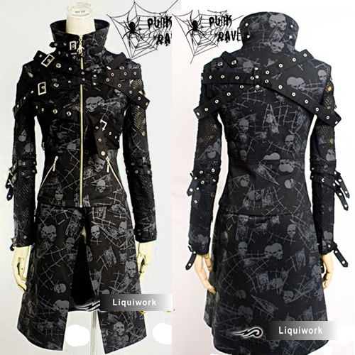 14 Best Ideas About Metal Style Clothes On Pinterest Windbreaker Lip Service Clothing And