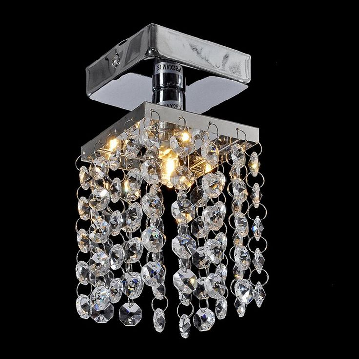 Wholesale Modern Fashion Crystal Led G9 Small Ceiling Light For Entrance Corridor Balcony Living Room Deco 2241 #Affiliate