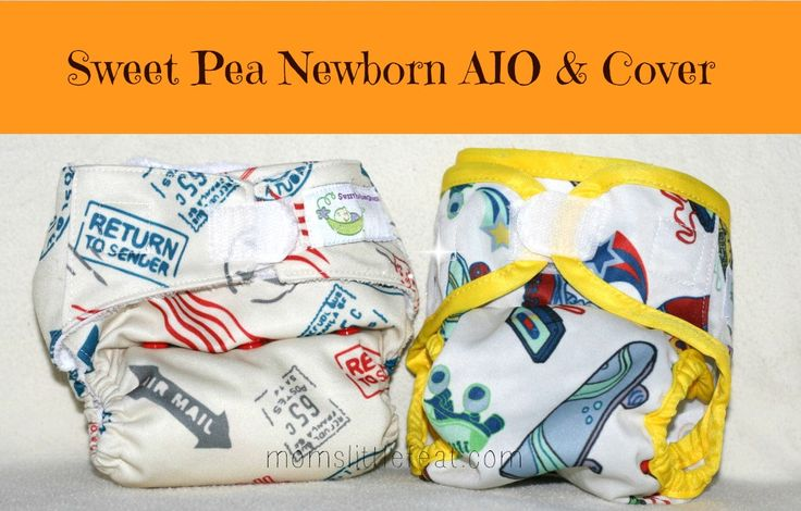 Sweet Pea Newborn AIO & Cover REVIEW