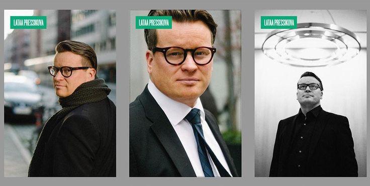 Konsultti Ville Tolvasen nettisivut ovat viimeisen päälle hiotut, pressikuvia myöten.