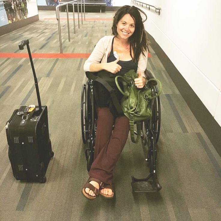"""Two years ago today I was pushed around in a wheelchair as I went to my very first ever lyme-…"""""""