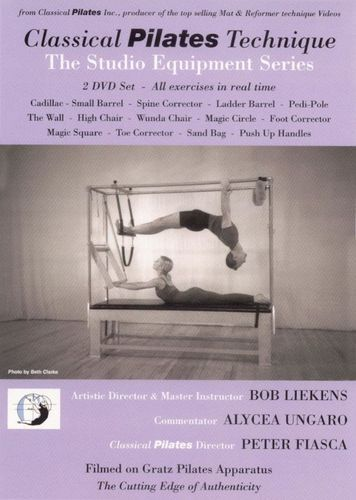 Classical Pilates Technique: The Studio Equipment Series [2 Discs] [DVD] [2005]