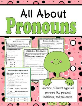 17 Best images about Teaching Pronouns on Pinterest | Schoolhouse ...