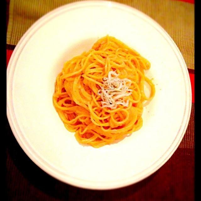 以前、弟と作ったパスタをアレンジ♡ 我が家では、大好評デス。 - 6件のもぐもぐ - 大好きたらこクリームパスタ by uranotuki