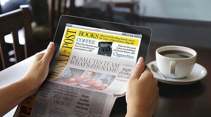 El 45% de los internautas españoles lee al menos un periódico digital al día