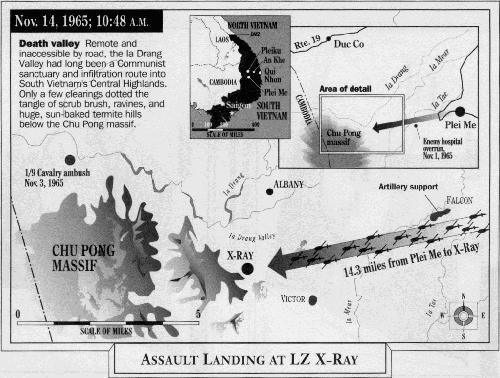 IA Drang Valley Battles 1965 | ... Ia Drang Valley. They were surrounded by 2,000 North Vietnamese