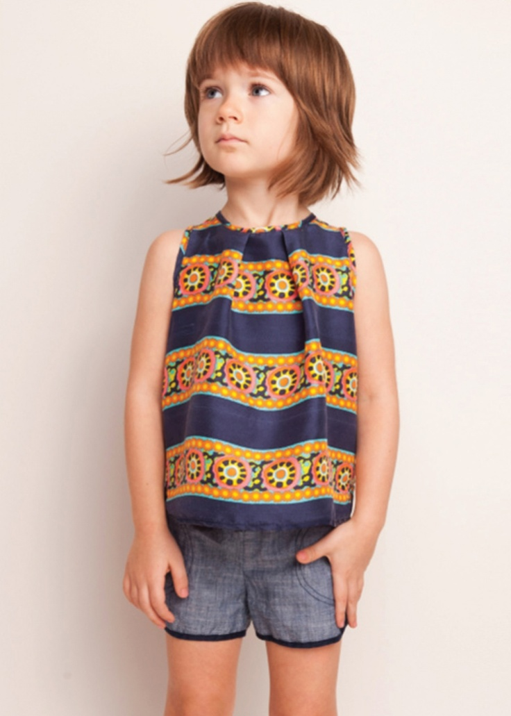 dang that's cute. Anthem Of The Ants Pretty Vintage Carousel Stripe Top