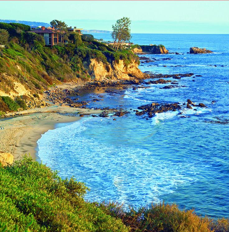Little Corona Beach located in Newport Beach