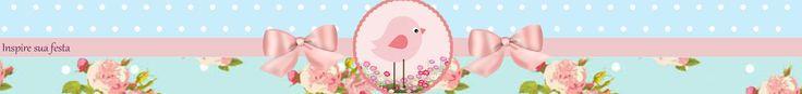 Pajarito Rosa en Fondo Shabby Chic: Etiquetas para Candy Bar e Imprimbles Gratis para Fiestas.   Oh My 15 Años!