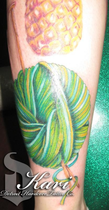 great depth on this yarn tattoo
