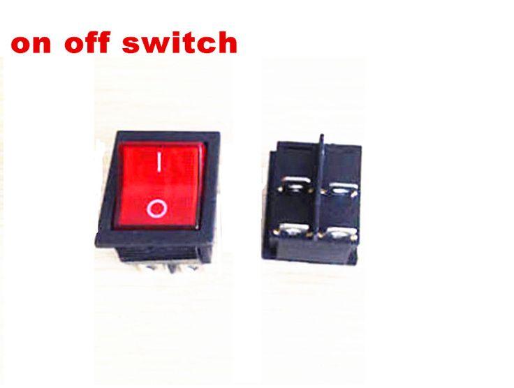 2x On Off Engine Stop Switch for rocker type petrol generator,China gasoline Generator panel switch on off,toggle switch on off