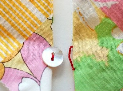 Great British Sewing Bee :: Series 2, Week 1  Hand sewn button loop tutorial from Oliver + S