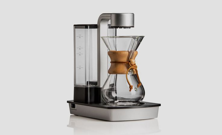 You already know about the Chemex. It's that hourglass-looking coffeemaker/pot behind the counter at high-end coffee shops. If you bought the pour-over coffeemaker for your pad, you also know about...