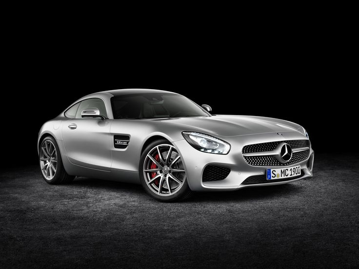 The Mercedes-AMG GT.