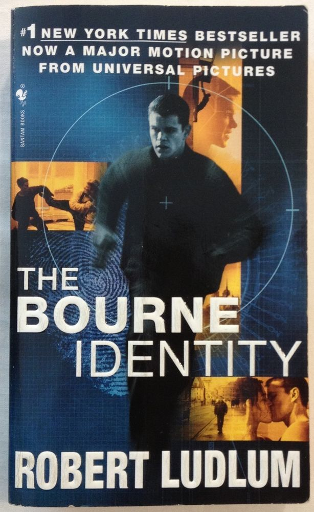 The Bourne Identity by Robert Ludlum (1984, Paperback) Book 1 in Bourne Series