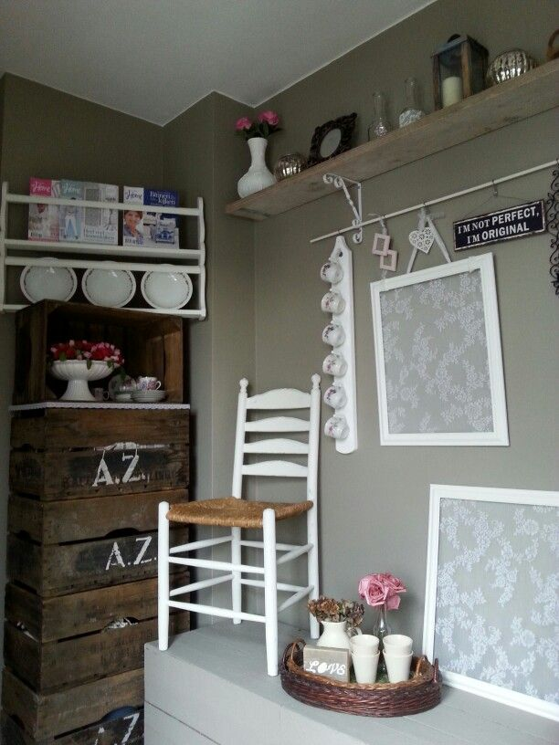 17 beste idee n over witte krijtverf op pinterest krijt verf meubels krijt schilderij - Decoratie schilderij gang ...