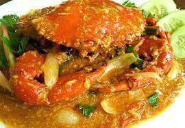 RUMAH MASAK, RESEP KEPITING SAUS PADANG ala SEDAP WANGI 89 MEDAN Bahan : 2 ekor kepiting telur/jantan (aku pakenya kepiting kecil / rajungan) 4 sdm saus tiram 5 sdm saus tomat, siap pakai 3 sdm saos sambal, siap pakai 150 ml air (kaldu seafood) – aku sih pake bekas rebusan kepiting 1 sdt merica bubuk ½ sdt garam ½ sdt penyedap rasa – aku ngga pake 1 batang daun bawang, iris serong tipis ½ buah bawang bombay, iris tipis 1 sdt gula pasir 2 lembar daun salam 3 lembar daun jeruk – karena susa...