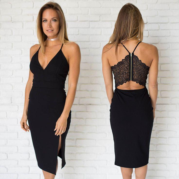 17 Best ideas about Black Midi Dress on Pinterest | White ...