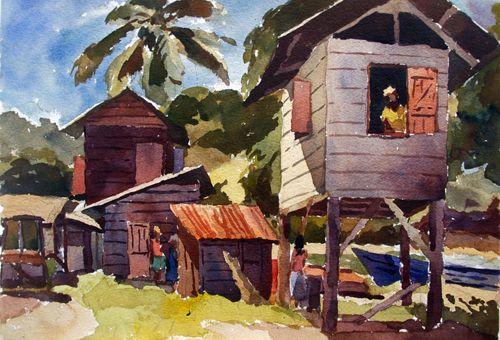 Trinidad Tobago Art Gallery Jackie Hinkson Studley Park