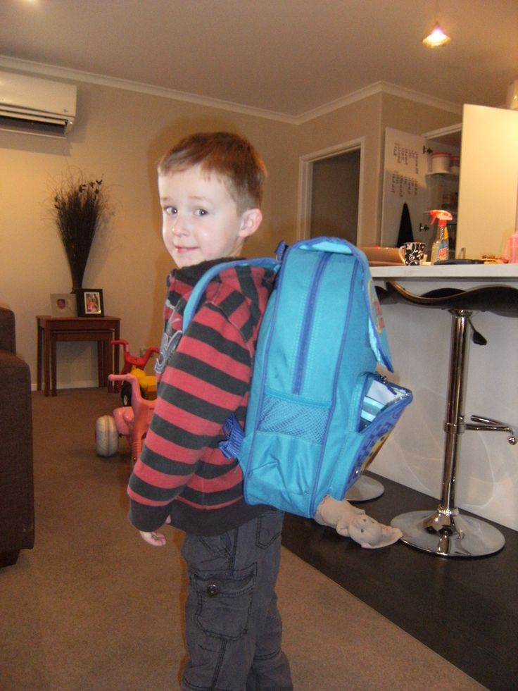 My little brother Kees on his first day of kindy <3  :)